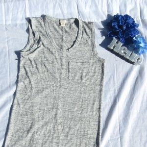 J. Crew Striped Modal Pocket Dress
